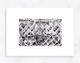 5e1557d05 Chanel print
