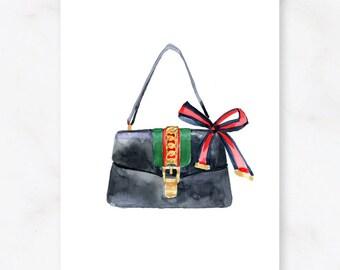8f308a1090e Gucci bag, gucci svg, gucci wall art, gucci art, gucci print, gucci, gucci  replica bag, Fashion Illustration Print DIGITAL DOWNLOAD Print