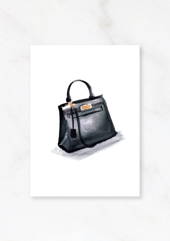 88556bac1874 Hermes Bag Hermes Kelly Bag Print Hermes Fashion Print