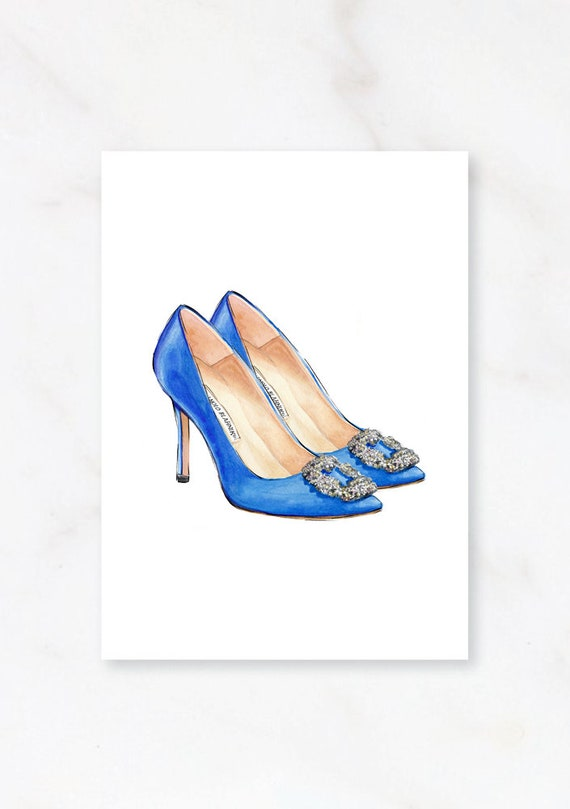 f208457c065 Manolo blahnik, manolo blahnik art, fashion print, manol, fashion  illustration, manolo blahnik shoes, fashion prints, INSTANT DOWNLOAD