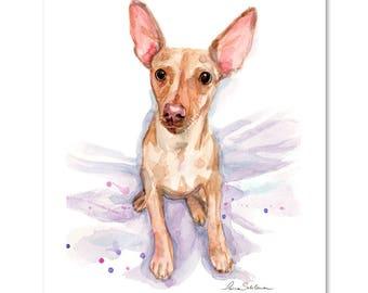 Custom pet portrait, Pet portrait, Dog portrait, Custom dog portrait, Custom portrait, Dog painting, Custom dog painting, Dog illustration