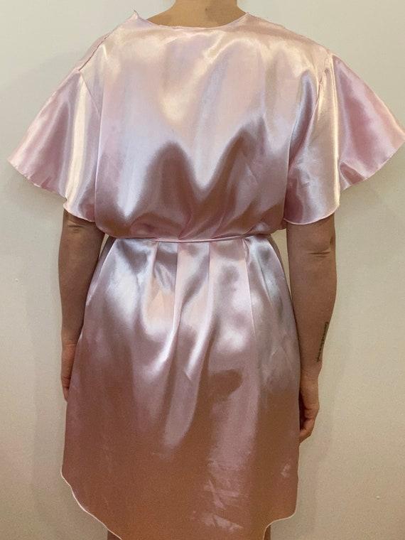 Vintage Dressing robe, satin robe, night gown, vi… - image 7
