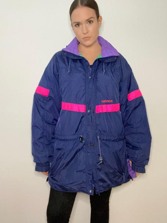 80's Ski Jacket, Winter Ski Jacket, Snowboard Jack