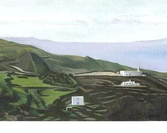 Card - Acrylic Painting of Felos, Andros