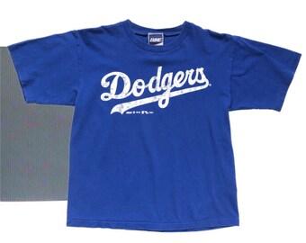 980e6a627 Vintage Single Stitch Los Angeles Dodgers Baseball T-shirt