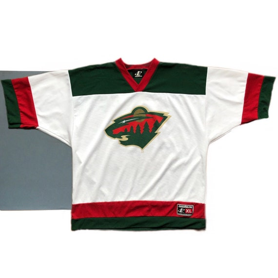 super popular 03414 0bfec Vintage Minnesota Wild Hockey Jersey