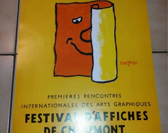 POSTER - Poster of CHAUMONT Festival brand new