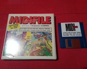 "Floppy 3 MIDIFILE ""5. Francis CABREL music file"