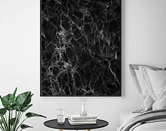 minimalist poster marble print black white wall art textured printable art minimal wall decor scandinavian poster boho abstract art print