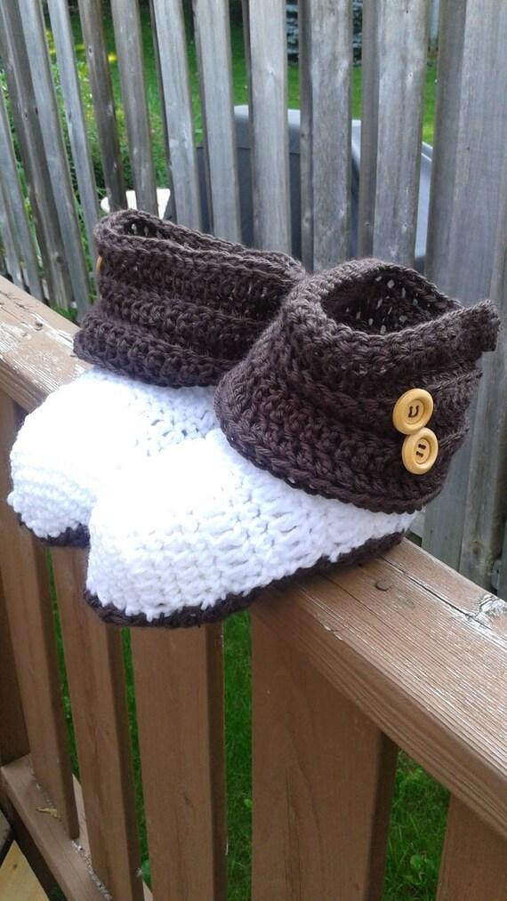 Crochet boot pattern socks double sole Easy Fast instant pdf