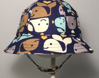 Baby Hat - Baby Boy Hat - Boy Sun Hat - Toddler Sun Hat - Toddler Sun Hat
