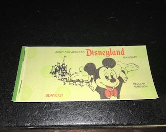 NOVELTY: Disneyland Classic Ticket Coupon Book