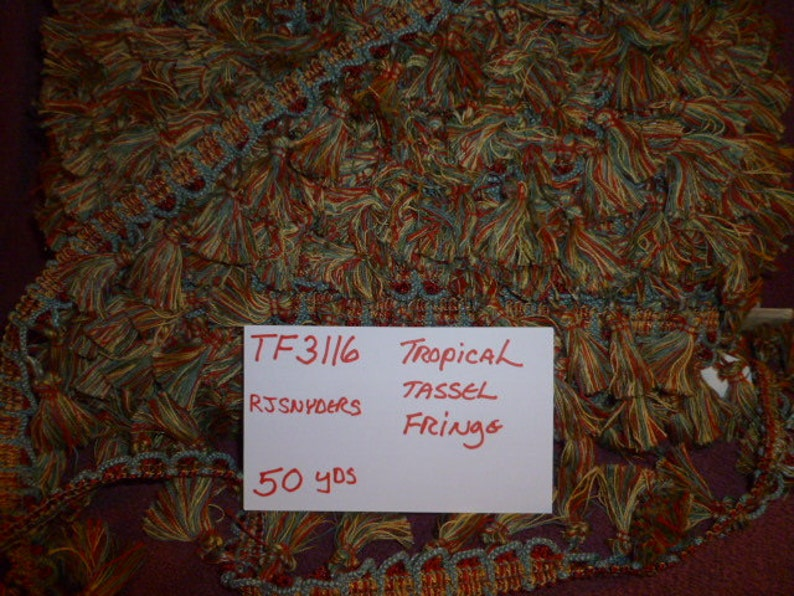 TF3116  Tropical Tassel Fringe  50 Yards
