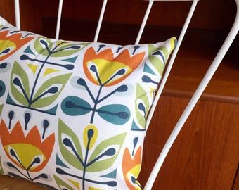Summer - Cushion with Feather Filler
