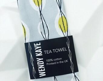 Fifties Abstract - Tea Towel