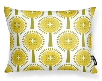 Ivy's Orchard - Cushion with Feather Filler