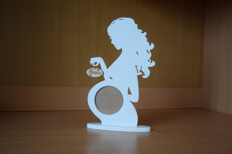 baby frame wood picture frame set ultrasound Frame pregnancy | Etsy