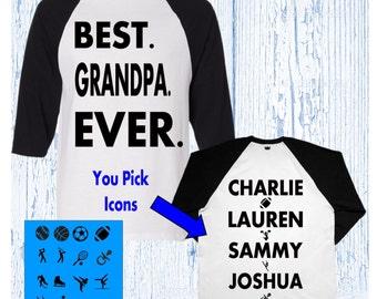 Grandpa Shirt - Grandpa Christmas Gift - Best Grandpa Shirt - Grandpa Gift