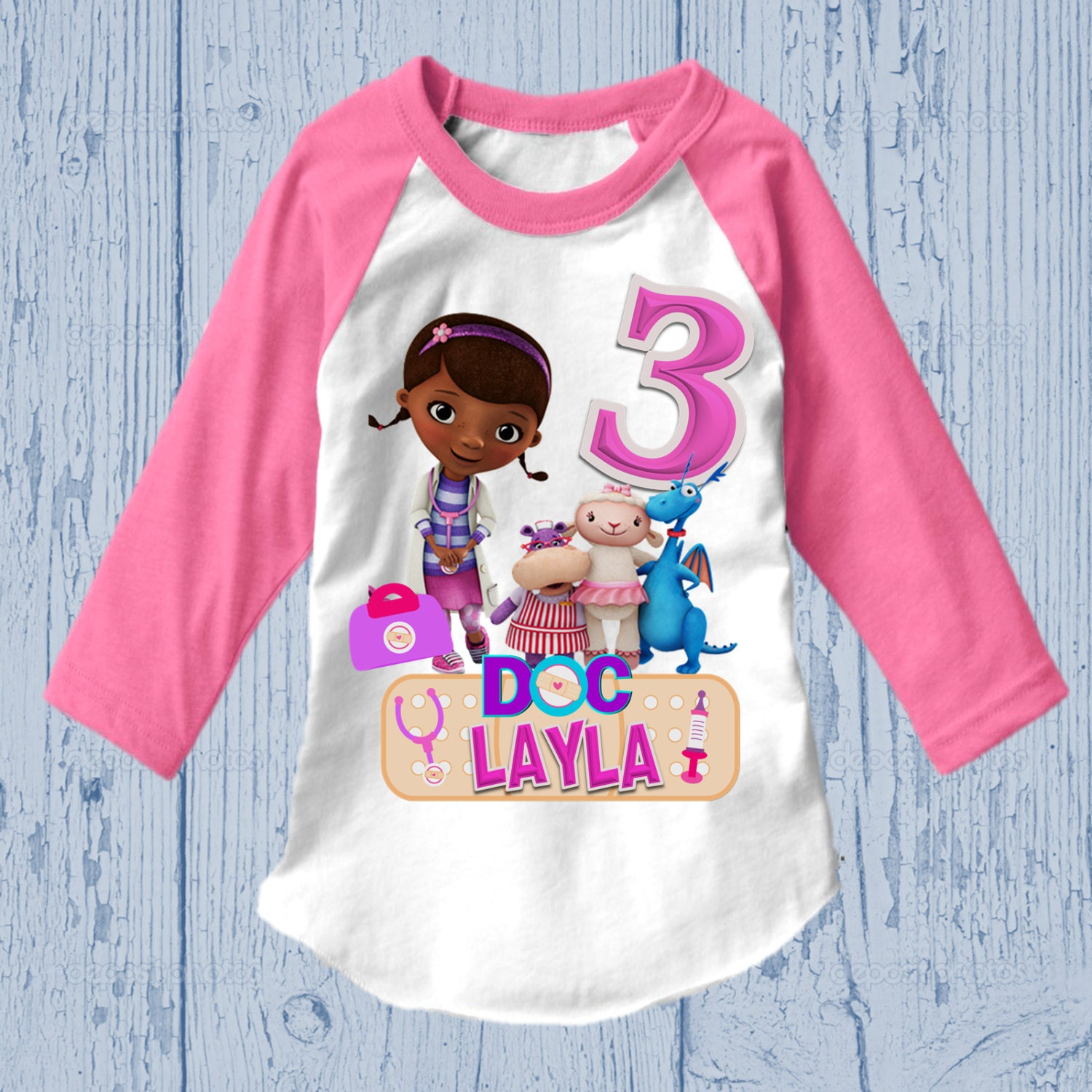Doc McStuffins Birthday Shirt Different Styles Available   Etsy