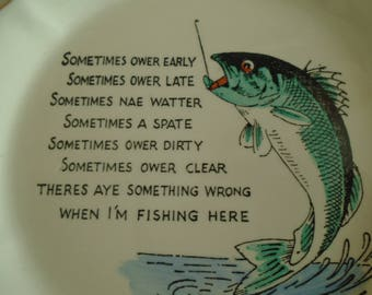 Scottish anglers lament lyrical pin dish