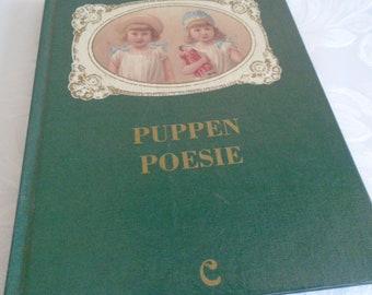 German poetry book ''Puppen poeise'' doll poetry