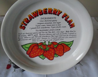 Strawberry flan recipe flan dish