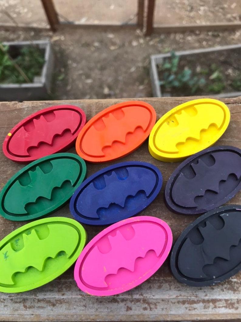 Batman Crayons  Batman Fish Extender Kids  FE Ideas  Superhero Birthday  Batman Birthday  Batman Gift Ideas  Crayola