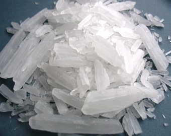 Menthol Crystals - 4 oz. - GMO Free - Premium Menthol Crystals