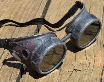 Forum Novelties Mens Steampunk Victorian Aviator Goggles