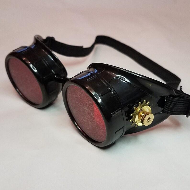 Steampunk Brille Viktorianischen Brille Biker Cosplay Scifi Etsy