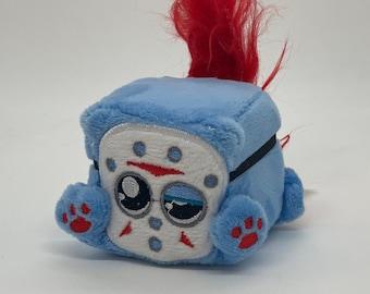 Small Fri, Squaredy Cats mini plush 2 inch cube plushie