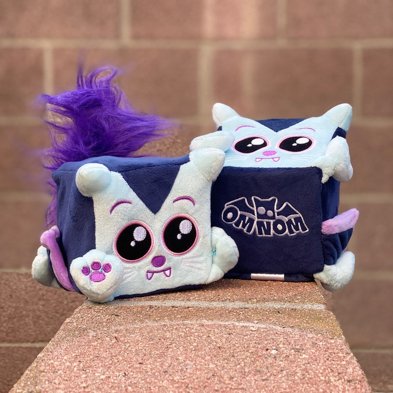 Nibbles the cute plush vampire kitty by Squaredy Cats image 0