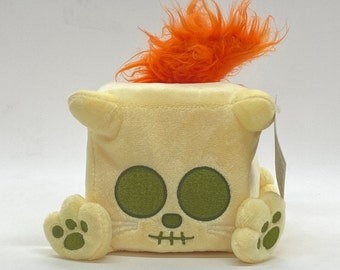 Tagged Special — Skeleton Cat — Skelly the plush bone cat by Squaredy Cats