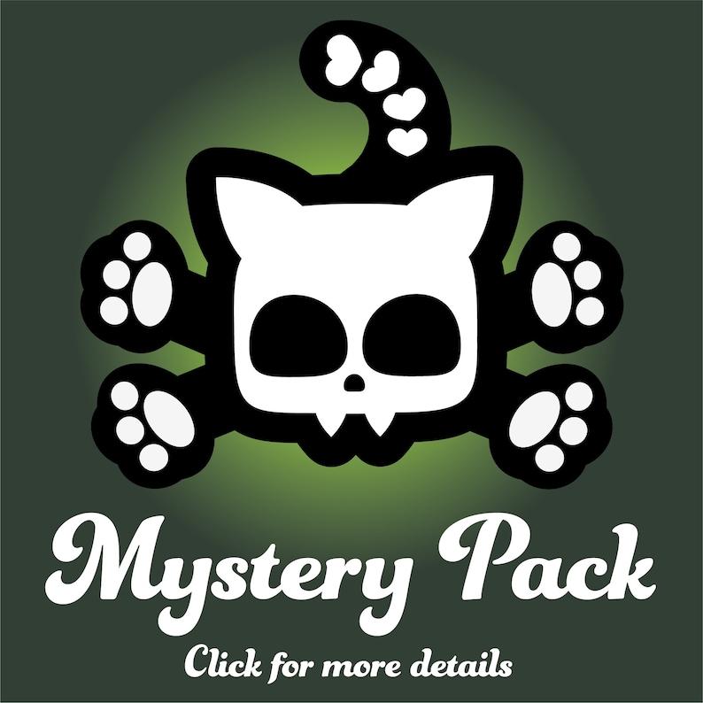 2 Monsters B Mystery Box. You get random TWO plush Monster image 0