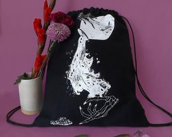 AQUARIUS Drawstring Backpack