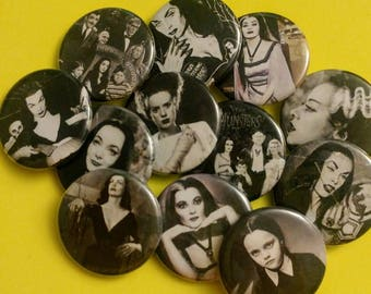 Women of Horror Edition ϟ 1.25 inch pinback buttons