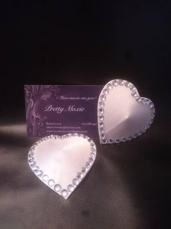 Ivory Wedding Nipple Pasties Tassels Bridal Nipple Covers -4076