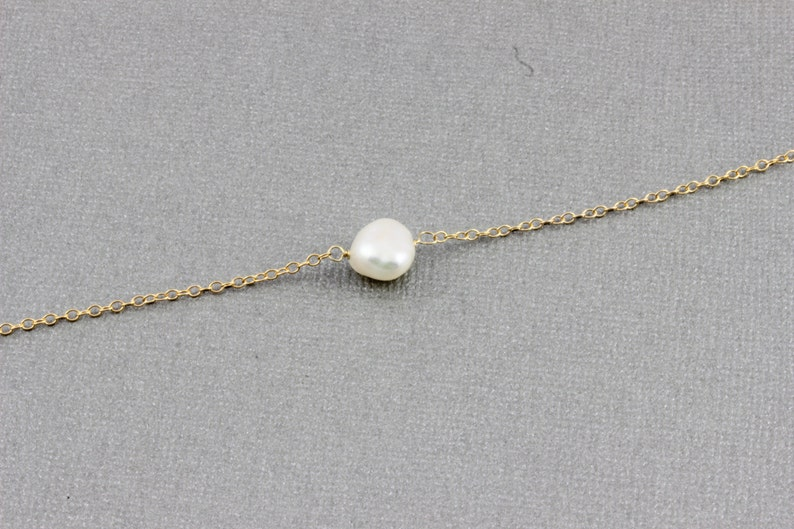 463e8f6c1 Pearl Necklace Sterling Silver Gold Filled Pearl Pendant