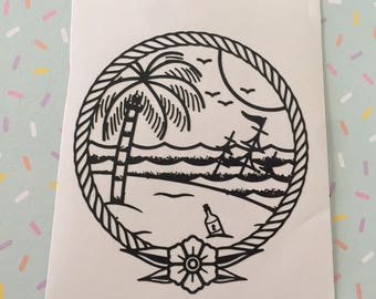 beach landscape etsy