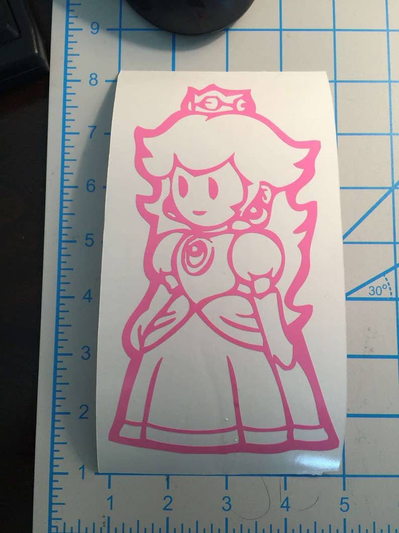 3d328216be2 Nintendo Super Mario Brothers Princess Peach Vinyl