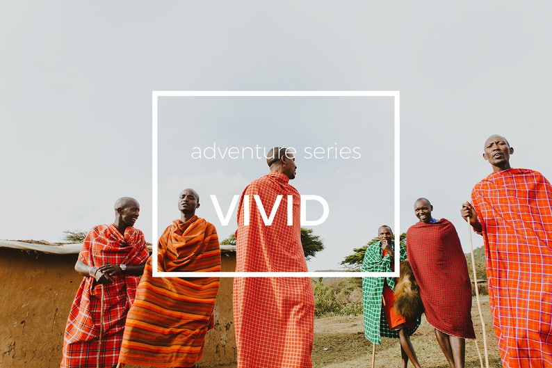 Rich and vibrant tones for your most colorful adventures Adventure Series Professional Filters Vivid Lightroom Preset