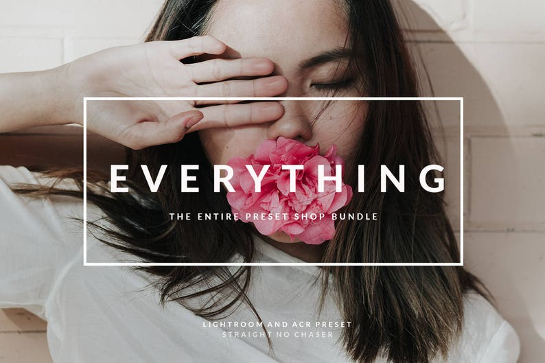 travel and blogging photography The EVERYTHING bundle 2019: Desktop Lightroom and Photoshop Presets for your portrait fashion wedding