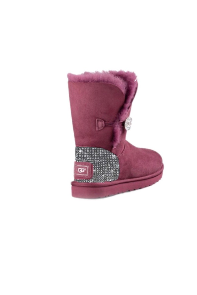 ce17bee4c5d UGG Bailey BlingButton Swarovski Bling Boot - Bougainvillea