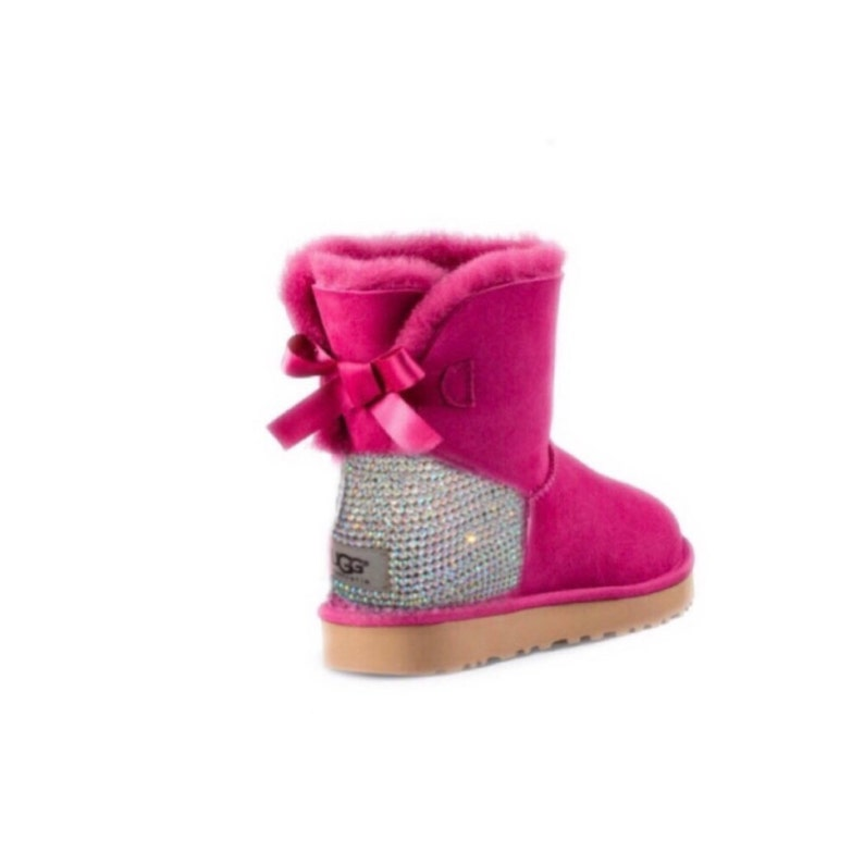 28ffb75394d UGG Bailey Bow Swarovski Bling Mini Boot - Pink