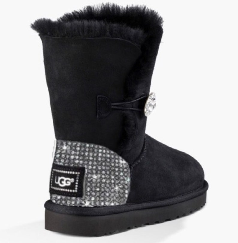 1bc81ff0a54 UGG Bailey BlingButton Swarovski Bling Boot - Black
