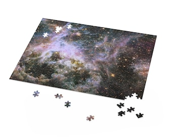 Space Puzzle | Tarantula Nebula | Puzzle For Kids Adults | NASA Puzzle Lover Gift | 500, 252, 120 Piece Puzzle Box | Educational Puzzles