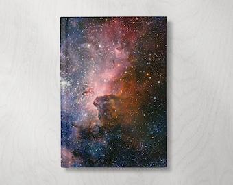Galaxy Journal Notebook | Cool Notebook | Hardcover Journal | Hardcover Notebook | Writing Notebook| Astronomy Gifts