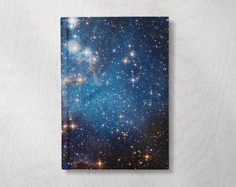 Space Notebook | Stars Journal Notebook | Hardcover Journal Notebook | Writing Journal | Celestial Diary | Astronomy Gifts