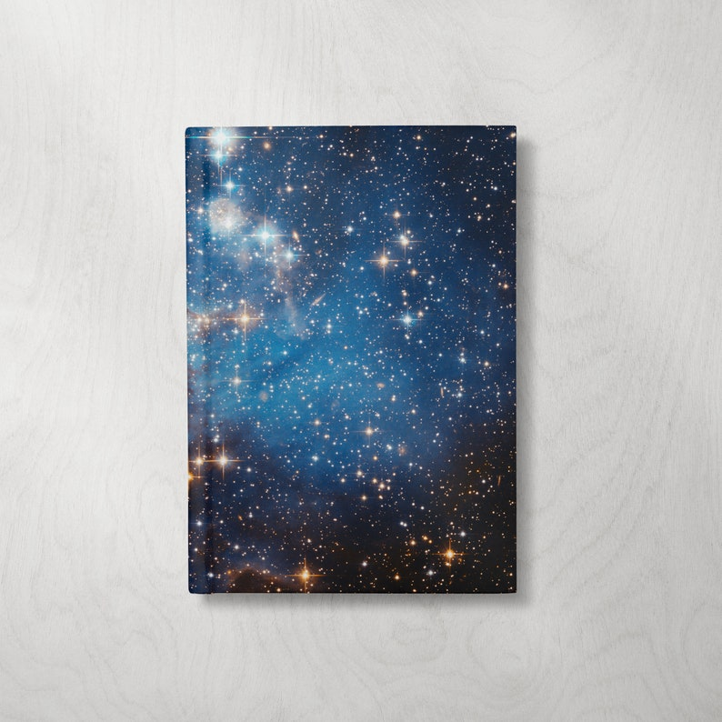 Space Notebook  Stars Journal Notebook  Hardcover Journal image 1