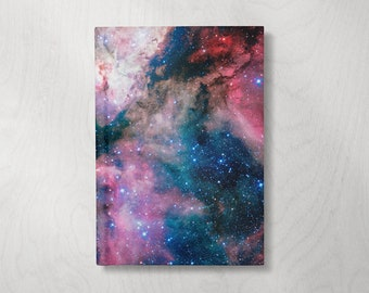 Galaxy Journal | Astronomy Gifts Galaxy | Hardcover Journal | Hardcover Notebook | Celestial Journal | Lined Notebook | Lined pages